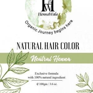 Henna hair colour Neutral