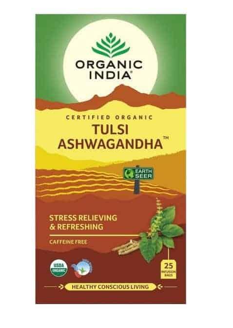 Tulsi Green Tea Ashwaghanda