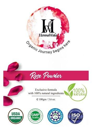 Rose Petal Powder 100gm