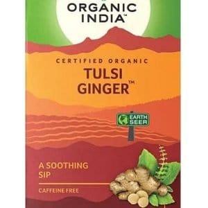 Tulsi Ginger Tea Organic