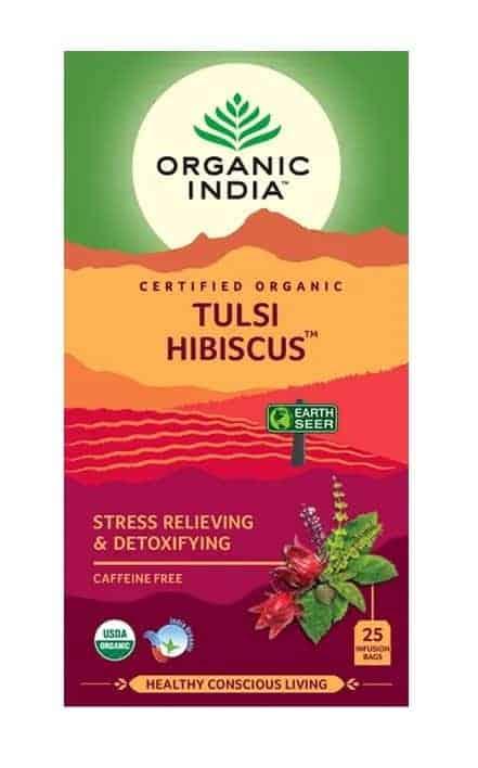 Tulsi Hibiscus Tea Bags