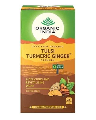 Tulsi Turmeric Ginger Tea