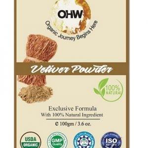 Vetivera Powder Organic