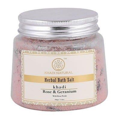 Rose & Geranium Bath Salt